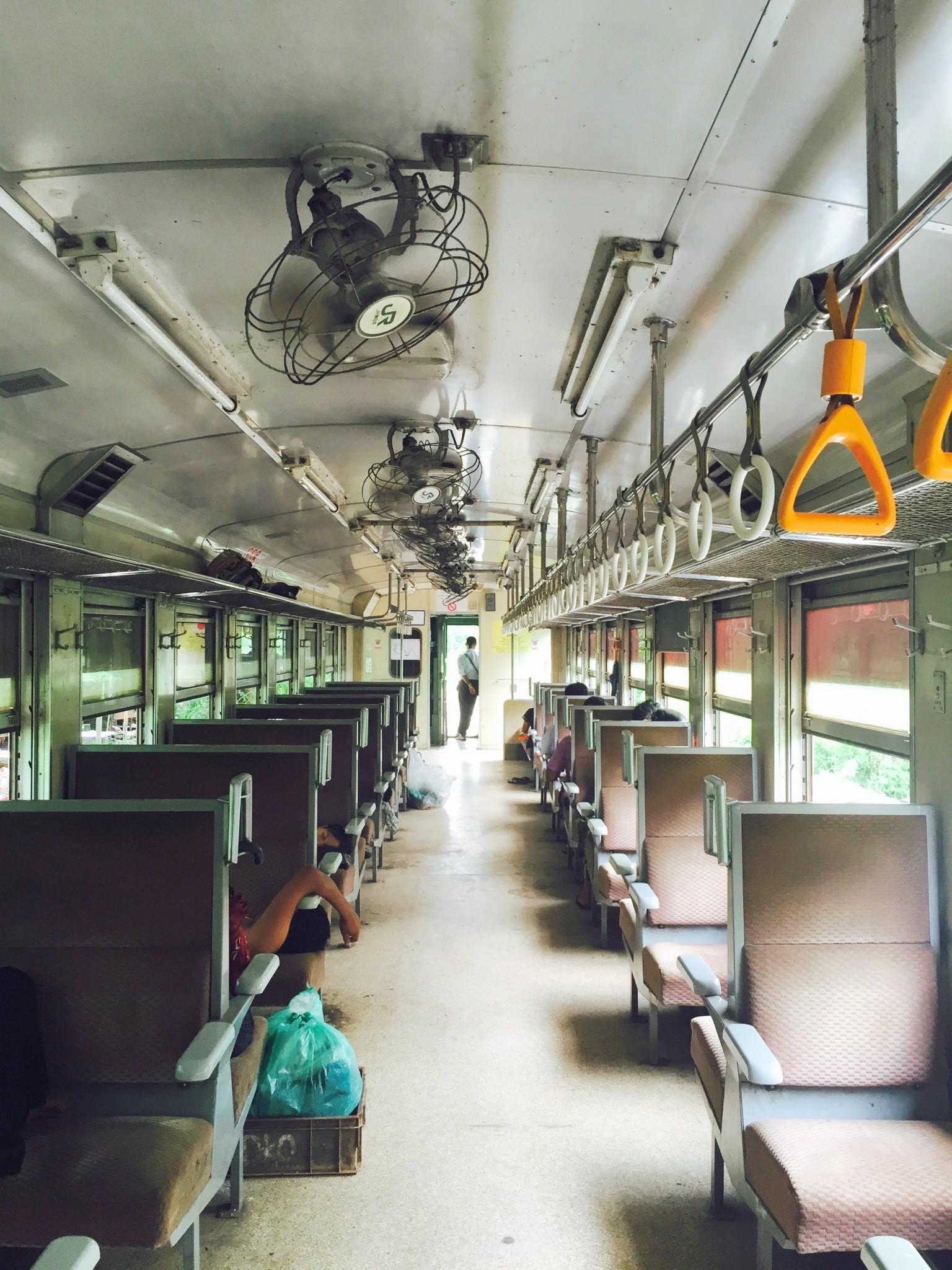 Inside the Circular Train