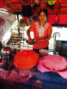 Roadside Noodle Stall, Mingaladon Station